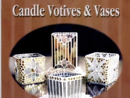 Mosaic and Beaded Candle Votives