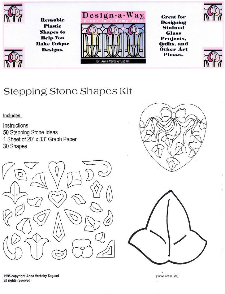 30 Stepping Stone Shapes 50 Patterns Anna Verbsky Sagami