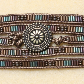Leather Wrapped Bracelet Kits